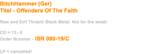 BitchHammer (Ger)